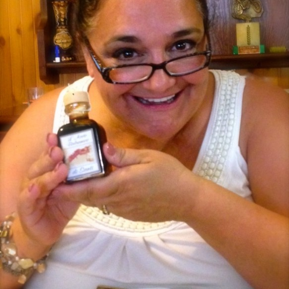 Joy from the receipt of my family's Balsamic Vinegar in Modena, Italy