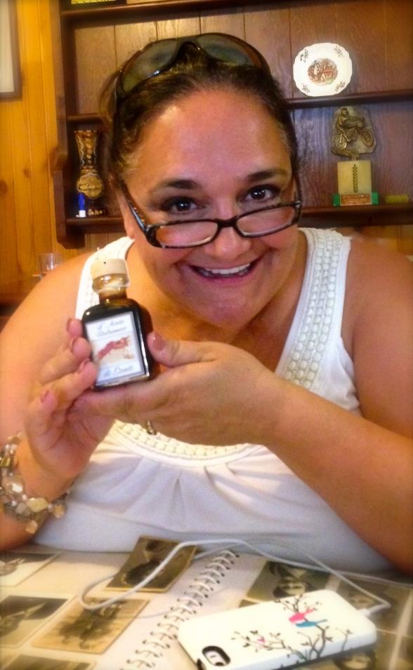 Joy from the receipt of my family's Balsamic Vinegar in Modena, Italy