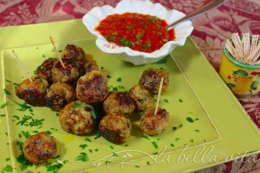 Italian Turkey Meatballs