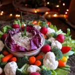 Creamy Veggie and Chip Dip — A Great Party Appetizer