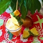 Anti-Inflammatory Pineapple, Mango and Ginger Smoothie