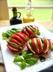 Caprese Salad with a Fresh New Presentation