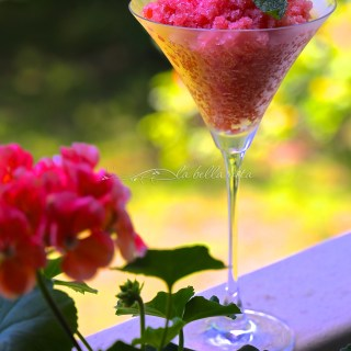 watermelon granita italian ice