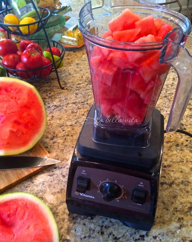 watermelon granita Italian ice
