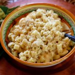 Six Cheese Pasta with Truffles and Prosciutto