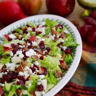 Perfect Autumn Chopped Salad