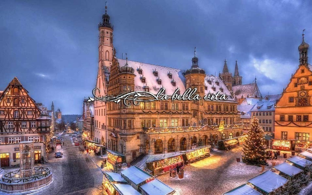 Christmastime in Bavaria Germany