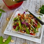 Crunchy Chopped Thai Salad with Peanut Dressing