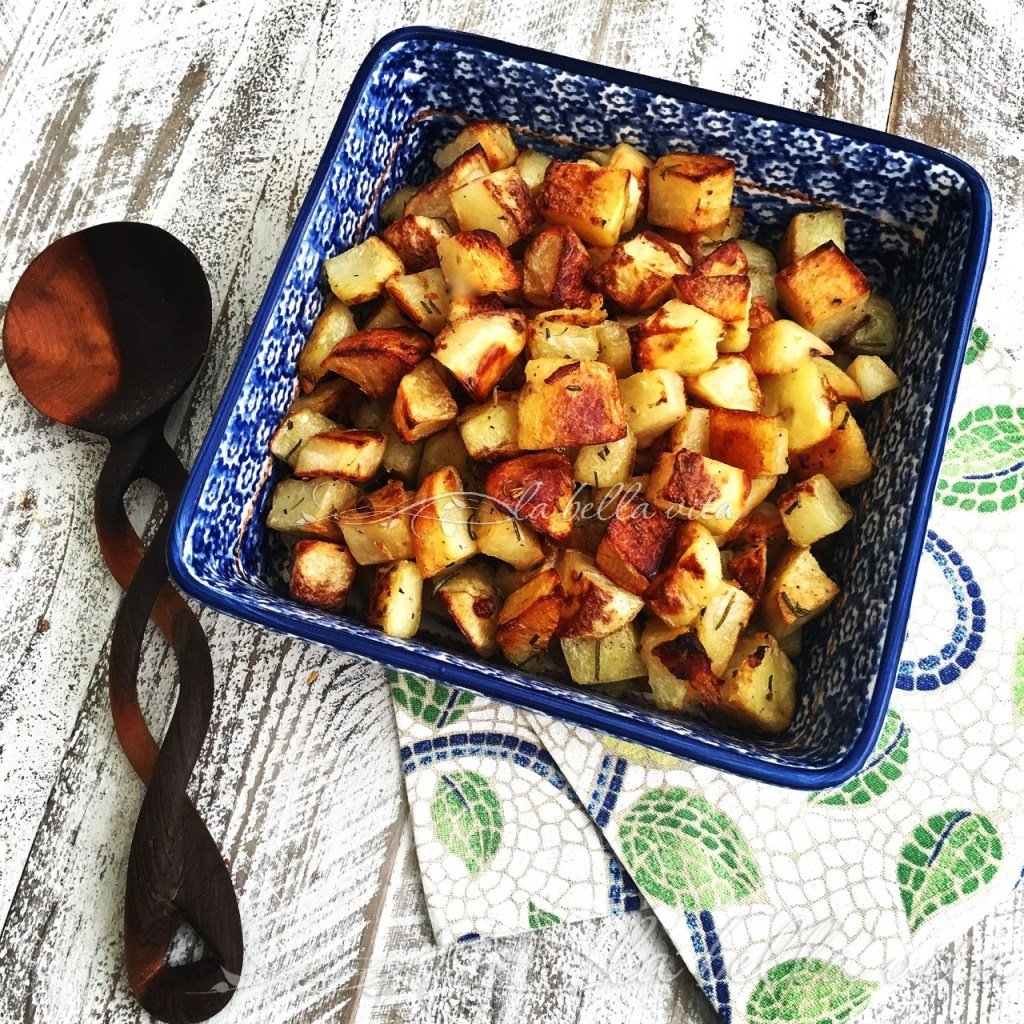 Italian Roasted Rosemary and Garlic Potatoes