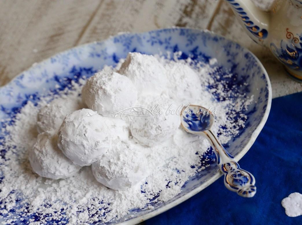 Greek Wedding Christmas Cookies Kourabiethes Kourabiedes