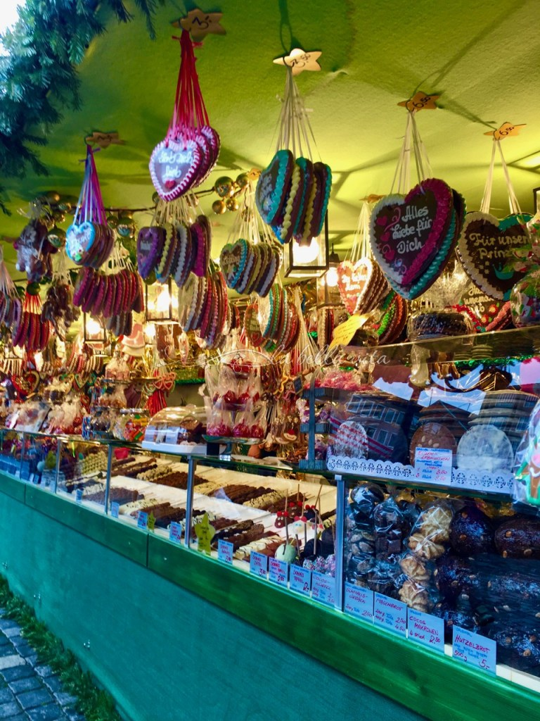 Lebkuchen German Christmas Cookies and Christmas Markets
