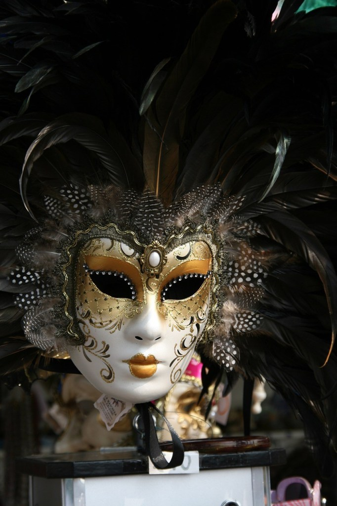 beautiful venetian costumes masks
