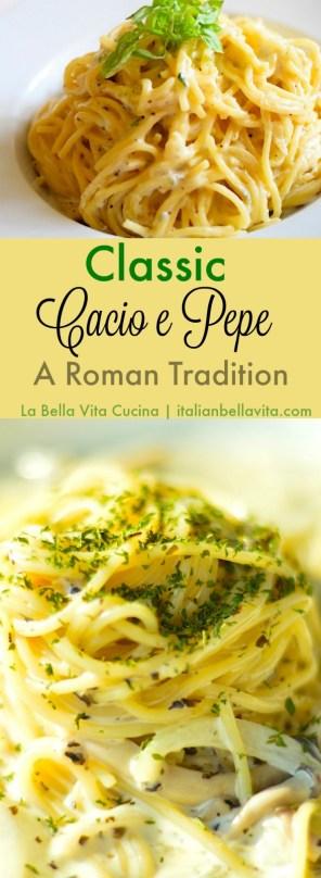 Cacio e Pepe, A Classic Traditional Roman Dish