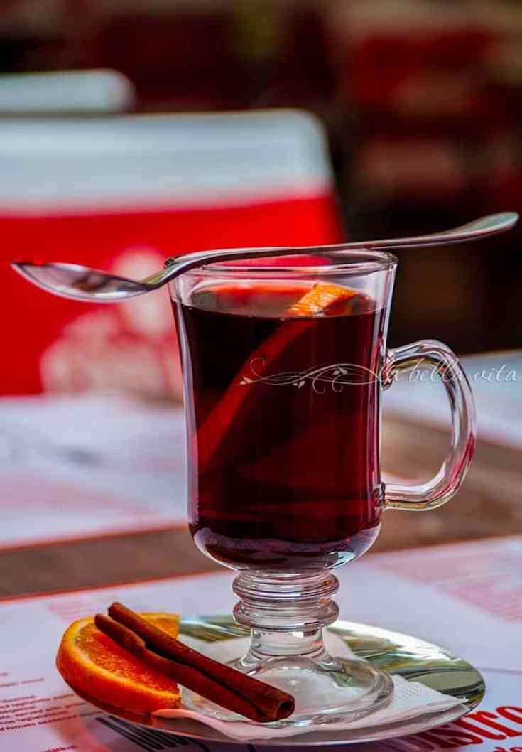 Glühwein -- German Mulled Wine