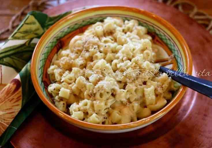 Six Italian Cheese Pasta with Truffles