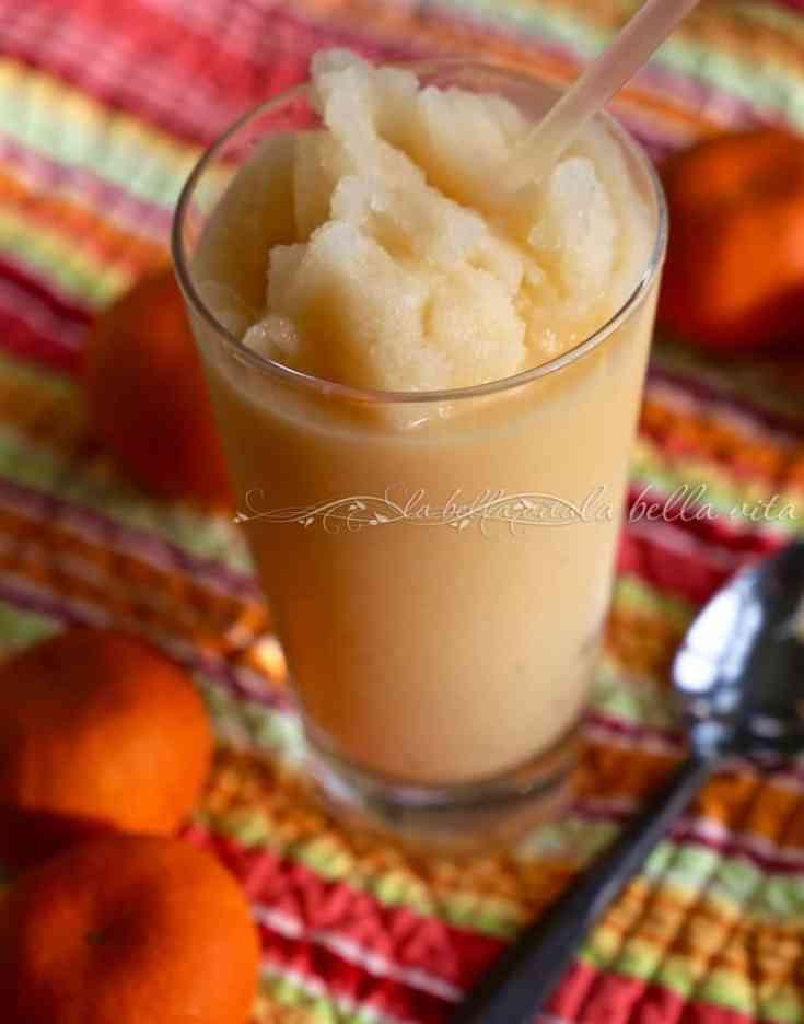 Sweet Clementine Orange Smoothie