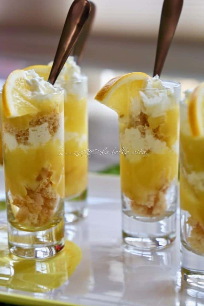 Meyer Lemon Mini Parfaits