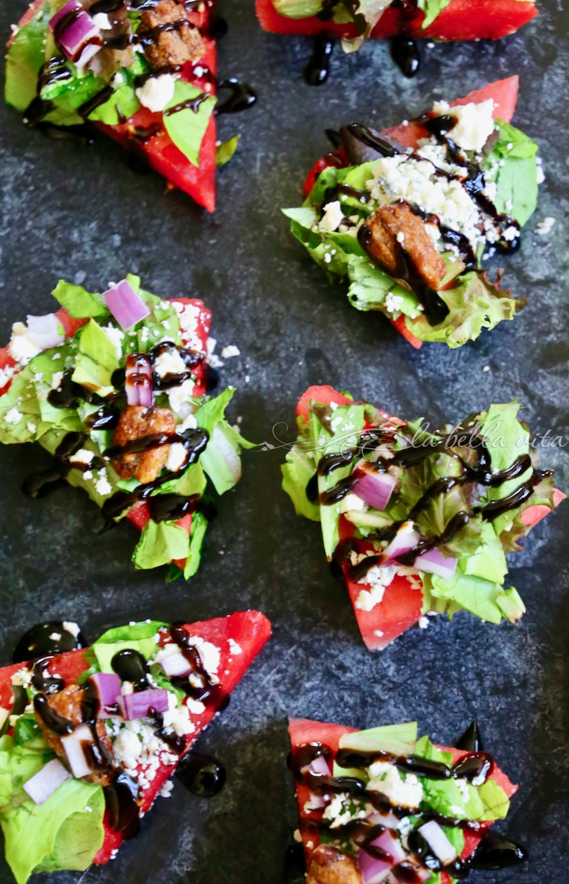 The Most Ultimate Watermelon Salad