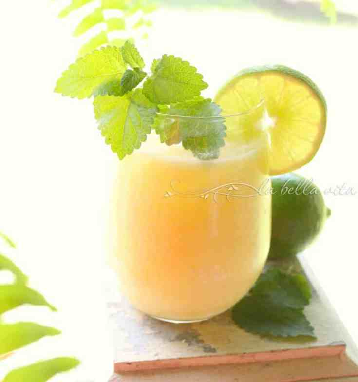 Coconut Lime Pineapple Coolers