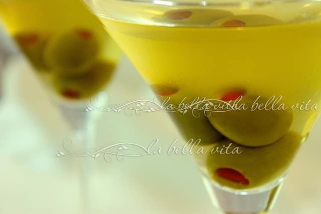 Down and Dirty Martini