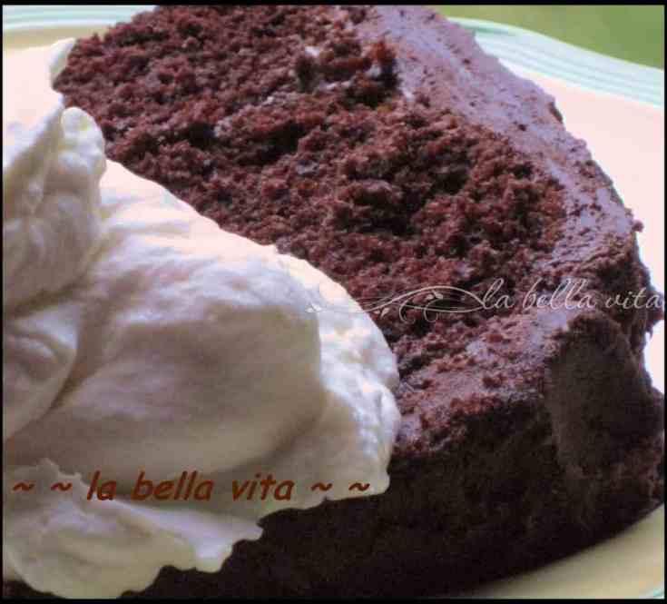 Triple Chocolate Fudge Cake