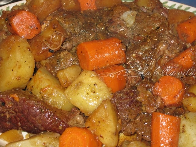 Incredible Pot Roast and Vegetables