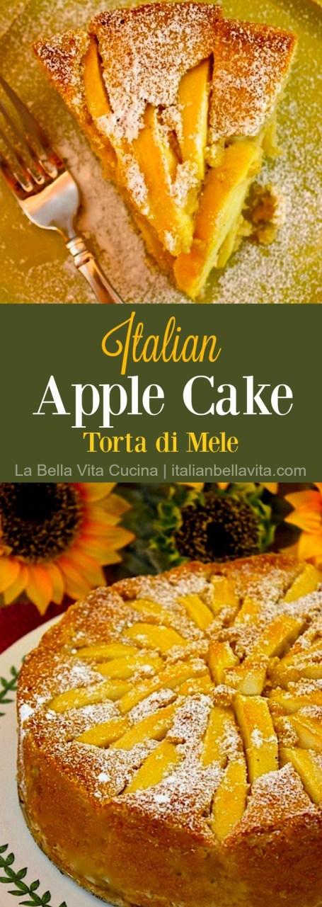 Italian Apple Cake Torta