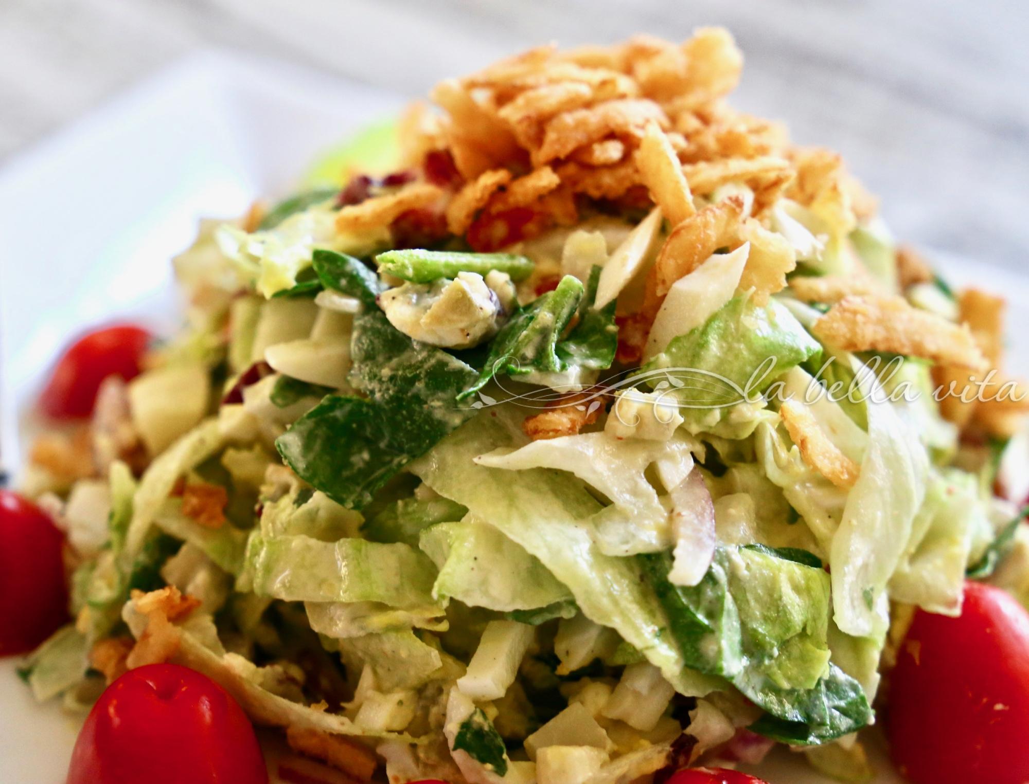 Ruth's Chris Steakhouse Chopped Salad - Copycat Recipe is SO DELICIOUS!! - La Bella Vita Cucina
