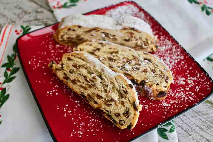 Christmas Stollen Traditional German Holiday Bread