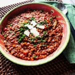 Italian Lentil Soup New Year's Tradition