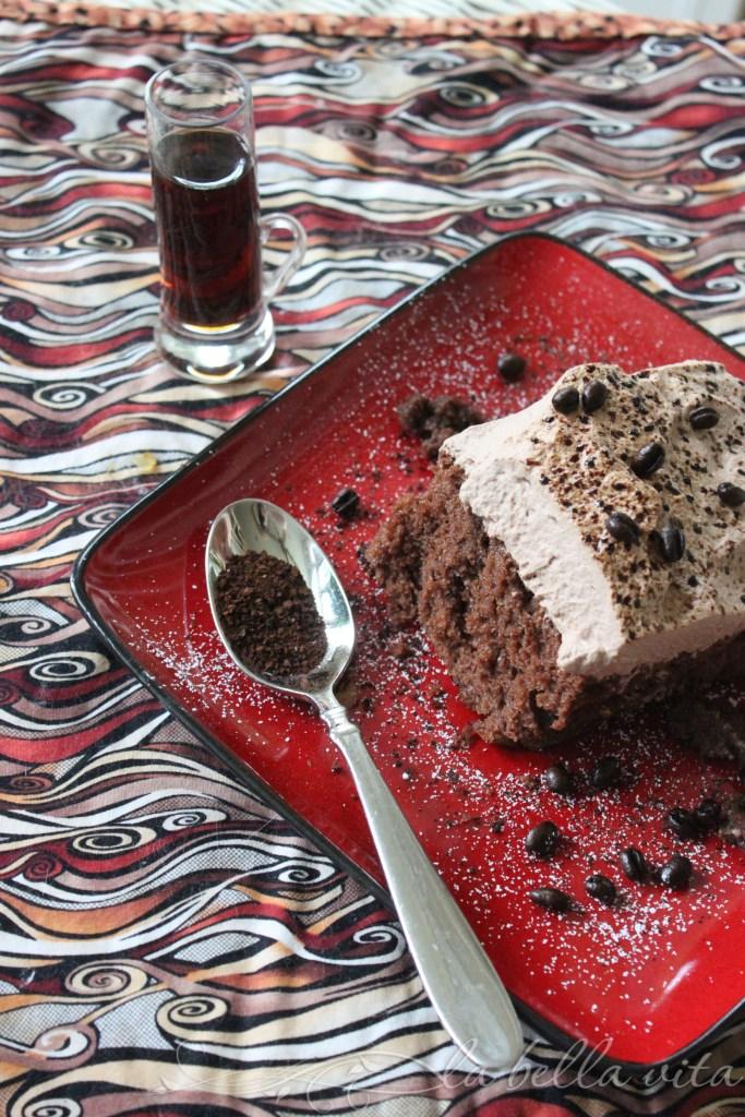 Espresso Chocolate Tres Leches Cake