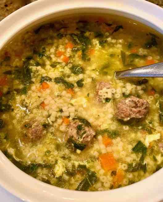 Classic Italian Wedding Soup