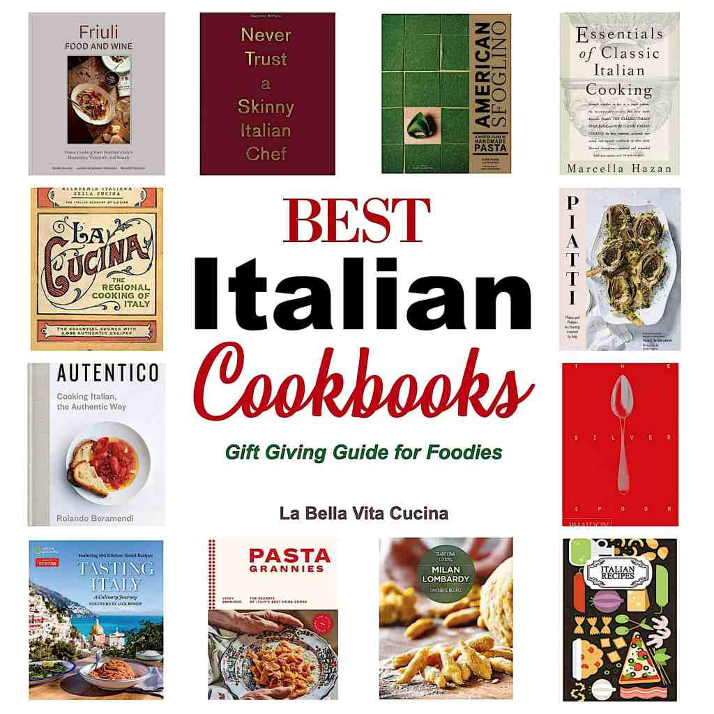 Best Italian Cookbooks Gift Guide