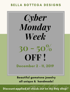 CYBER Monday WEEK SALE 30 – 50% OFF!