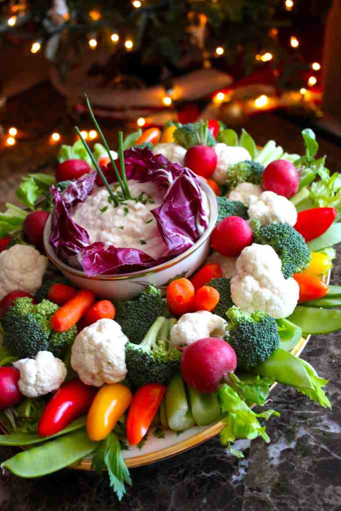 The Best Creamy Vegetable and Chip Dip