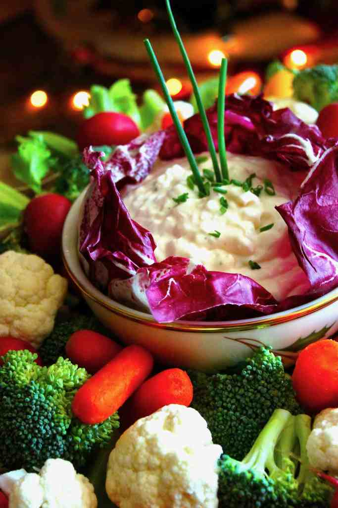 The Best Vegetable Dip