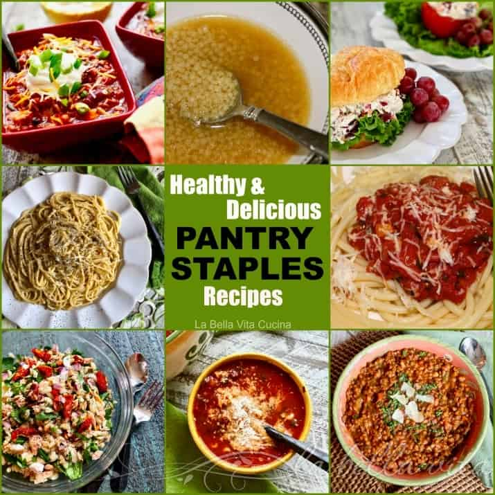 Delicious Healthy Recipes Made with Pantry Staples