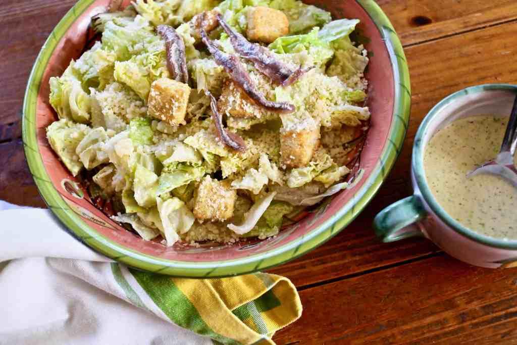 Copycat Caleco's Caesar Salad Dressing