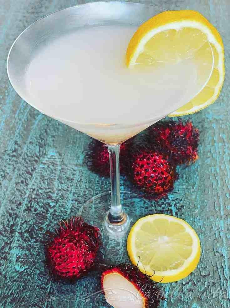 Limoncello Rambutan Martini