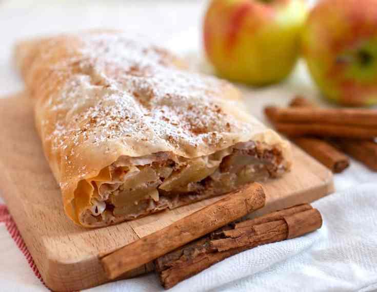 Northern Italian Apple Strudel ~ Strudel di Mele