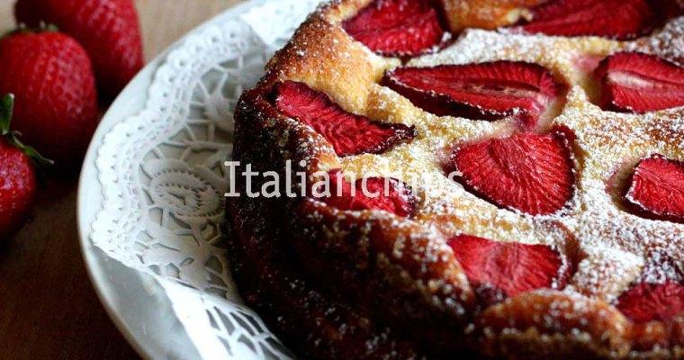 An addictive strawberry cake recipe
