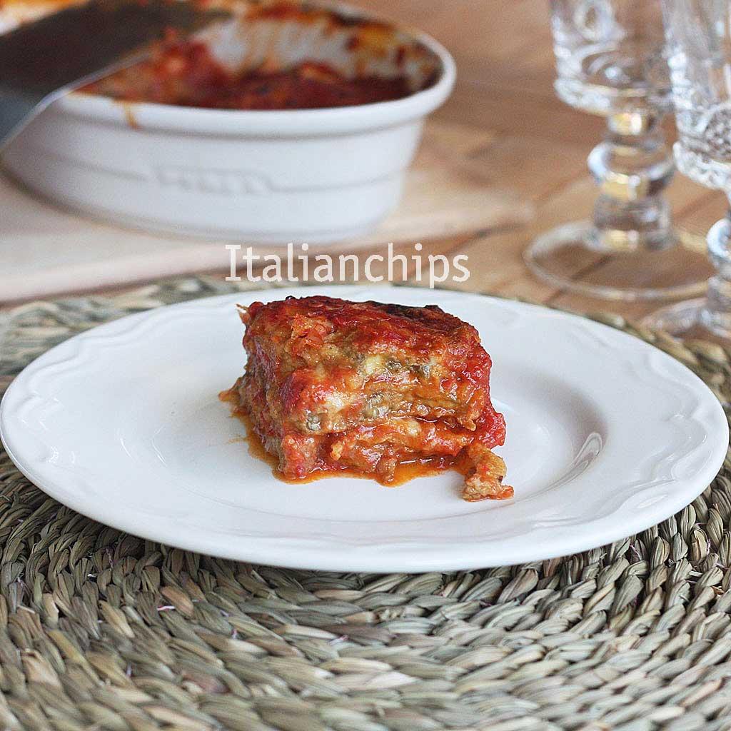 A Delicious Baked Eggplant Parmesan