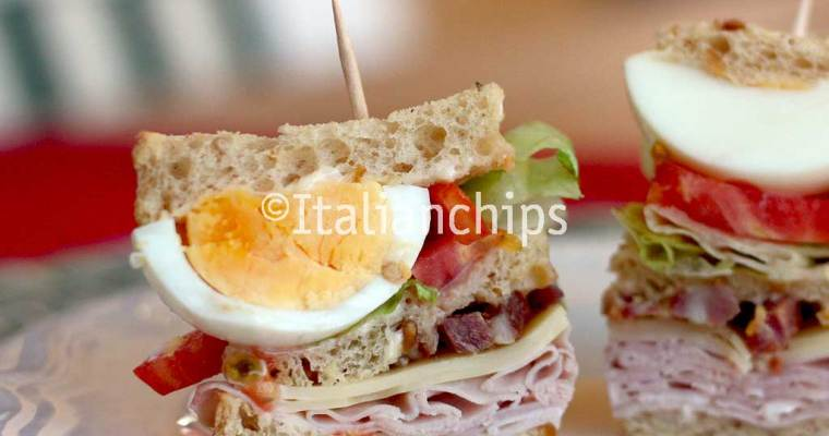 A Delicious Club Sandwich Recipe