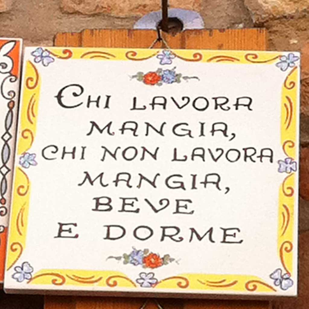 Italian Famous Food Quotes