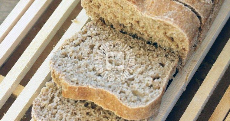 A 90% Whole Grain Bread Soft and Simple to Prepare