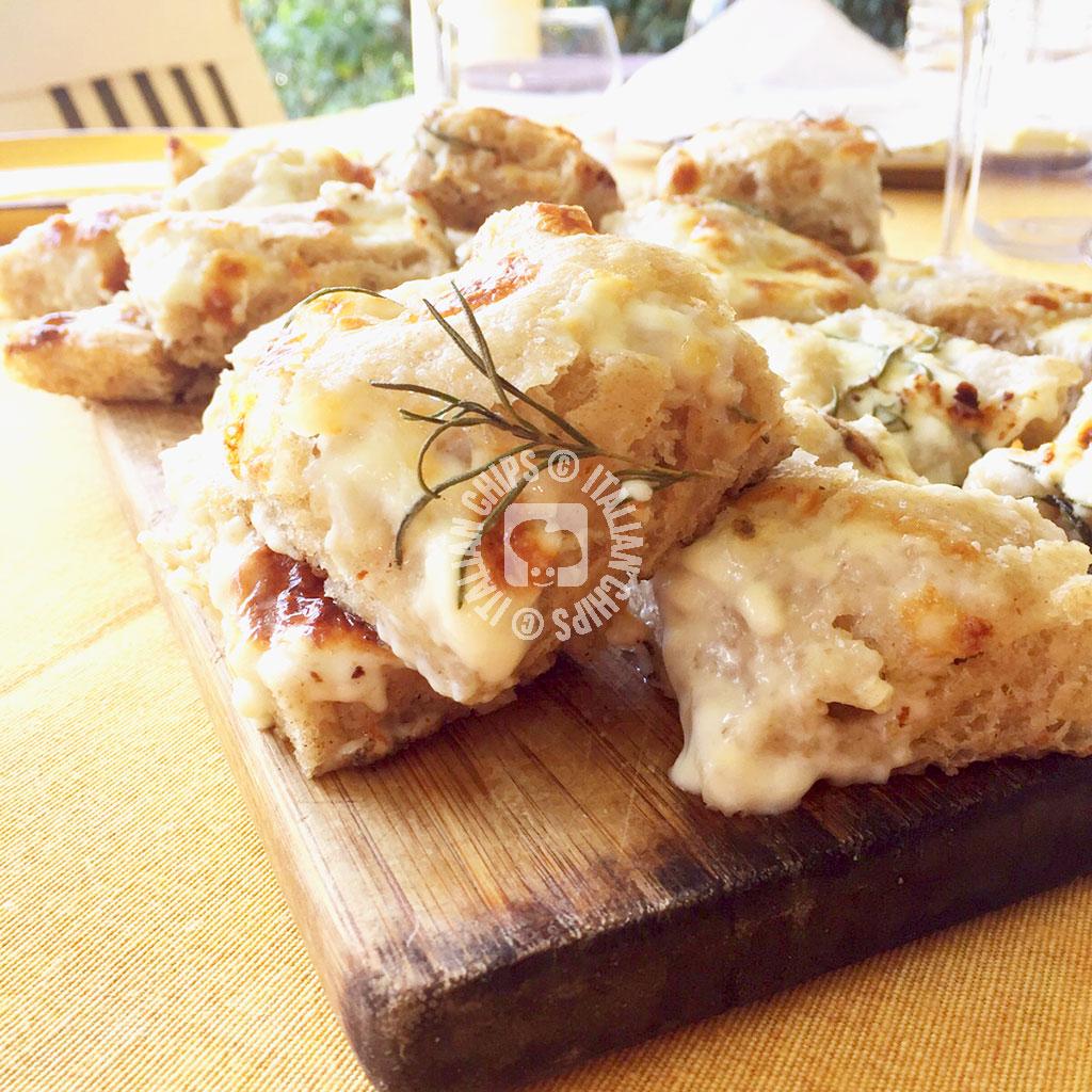 Spelt Focaccia With Stracchino Cheese