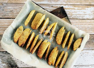 garlic potatoes