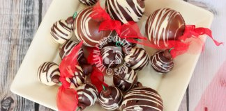 chocolate christmas ornaments