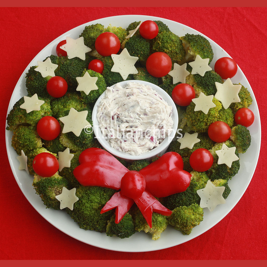 Vegetarian Christmas Wreath