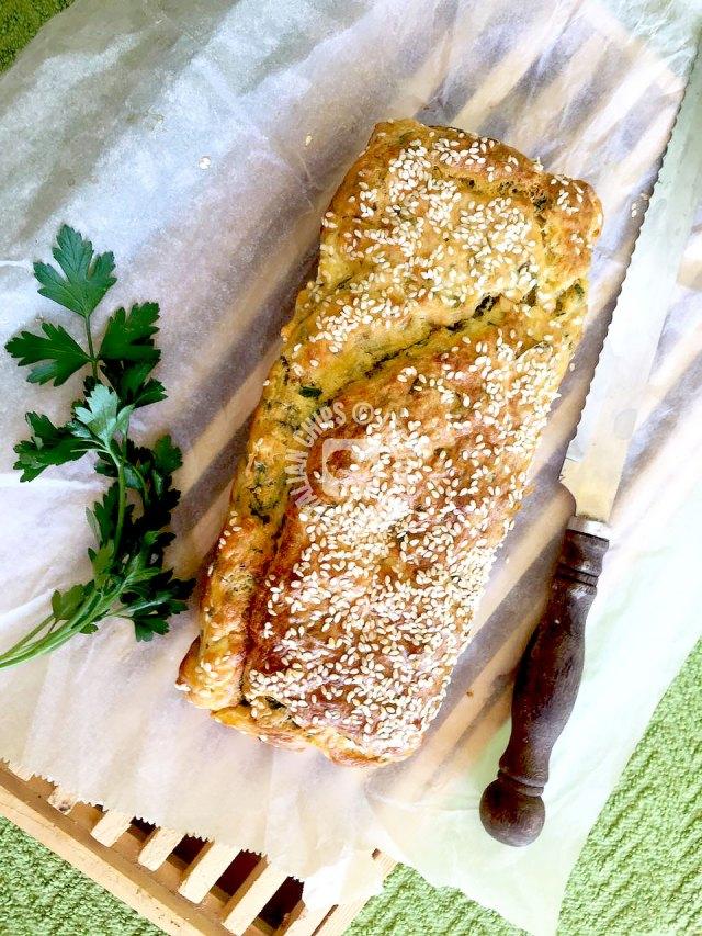 herbs bread